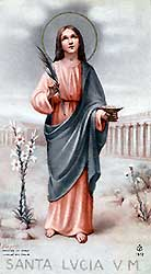 ¿Quién era Santa Lucía? (1/3)