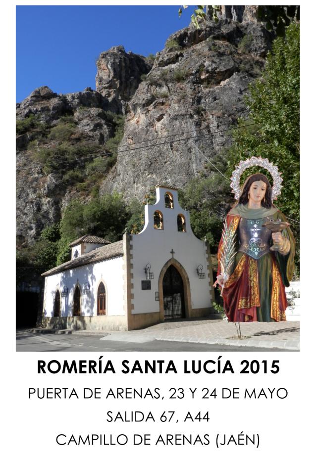 Cartel Romería 2015