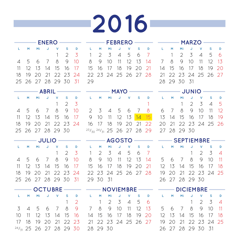 Santa Lucia Calendario.Calendario 2016 Santa Lucia