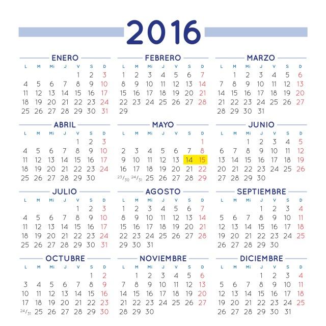 Calendario gratuito para 2016. Calendario para 2016 gratis. Calendario gratis para imprimir. Calendario 2016 para imprimir. Calendario para el año 2016. Calendario de 2016