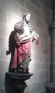Santa Lucia. Iglesia de San Antón, Bilbao